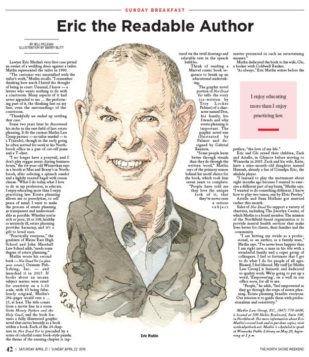 Eric Sunday Breadkfast Article2